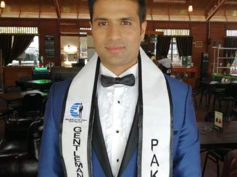 Mazan Saeed Shareef - Gentlemen of the World Pakistan, Mr. Pakistan World 2019