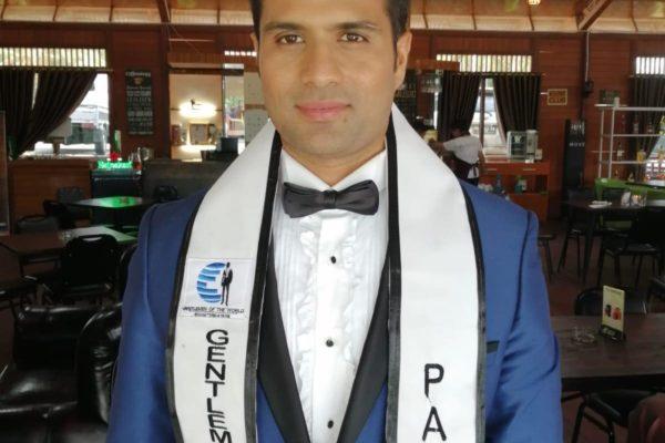 Mazan Saeed Shareef - Gentlemen of the World Pakistan, Mr. Pakistan World 2019